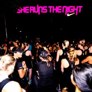 'She runs the night', en Australia