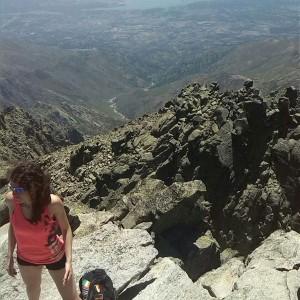 Vistas desde la cima del Almanzor. Sencillamente, espectacular.