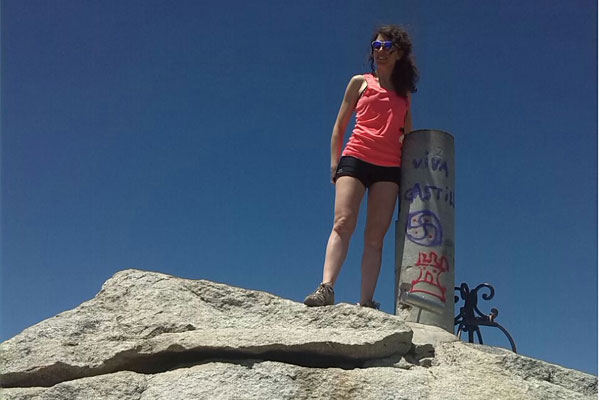 En la cima del Almanzor